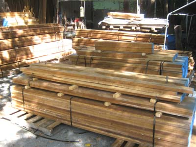 Teak lumber for sale for Timber decking for sale